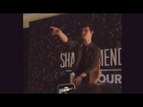Shawn Mendes Live Full Q &amp A at Lisbon, Portugal 28.03.2019
