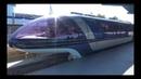 2017 Disneyland Monorail FULL Ridethrough in 4K Ultra HD, FRONT CABIN POV