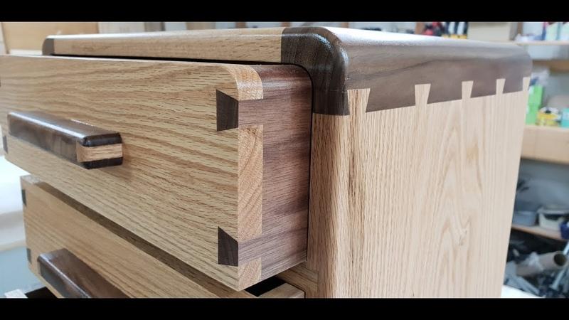 [English subtitle added][주먹장 콘솔 서랍장[Console drawer]만들기DIY 공방 wood ro leehyun Amazing Machine 목공기계