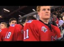 Awful Rendition of the Canadian and Russian National Anthem- WHL vs Russia Super Series 11/28/13