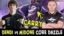 Dendi vs MidOne — CARRY Dazzle battle