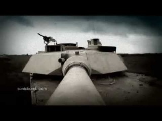 M1A2 Abrams Tank in Action