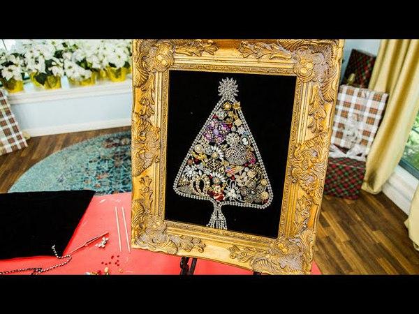 Orly Shani's DIY Vintage Jewelry Christmas Tree - Hallmark Channel