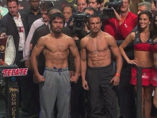 MANNY PACQUIAO vs JUAN MANUEL MARQUEZ 4 (weigh-in)