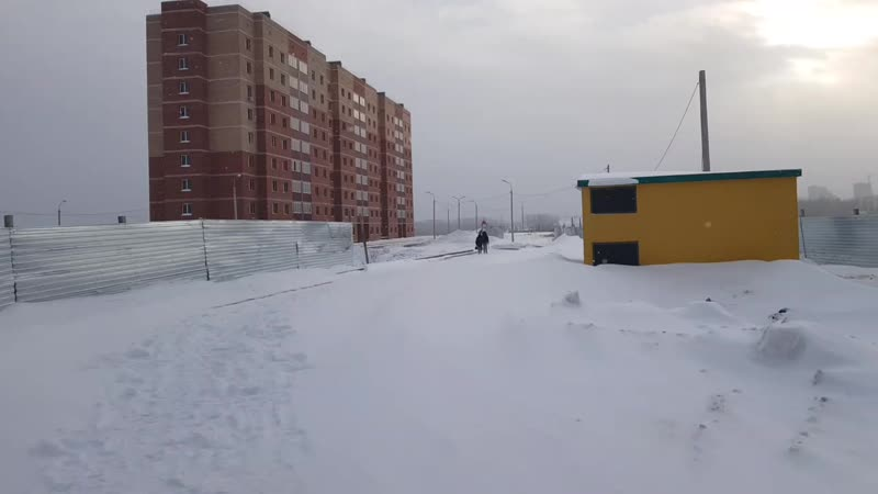 ЖК Серебряный ручей новый день!22.01.2019г!