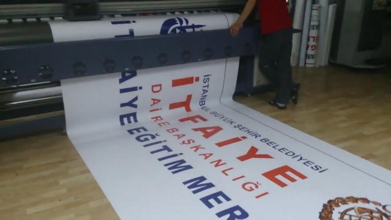 Apak Reklam İtfaiye vinil dijital baskı Vinil tabela dijital baskı örneği İftaiye branda baskısı