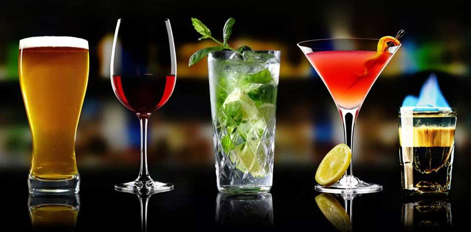 Большинство алкогольных напитков содержат больше, чем просто алкоголь