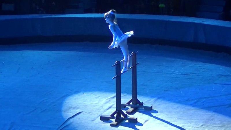 Мария Скорина Эстрадная спортивно цирковая студия Триумф г Чернигов Дивоцирк 2018