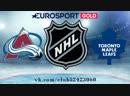 Colorado Avalanche vs Toronto Maple Leafs | 14.01.2019 | NHL Regular Season 2018-2019  | RU