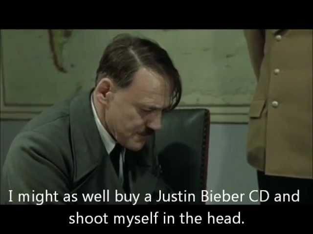 Hitler finds out Dimebag Darrell's Dead