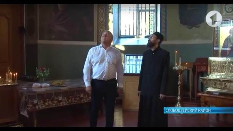 Александр Ярошук побывал в дубоссарском храме