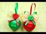 НОВОГОДНИЕ ШАРИКИ своими руками! / DIY Christmas balls / ✿ NataliDoma
