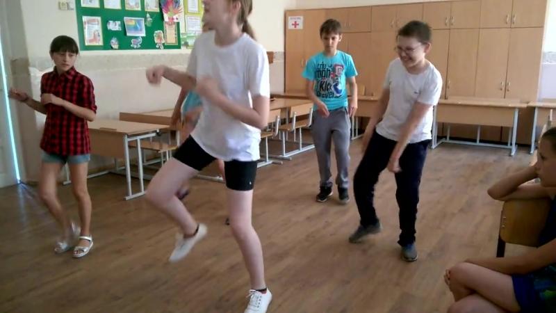 Шаблон танца на открытие