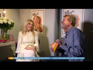 Kylie Minogue Ireland AM Interview (26.09.2018) (1/2)