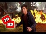Перси Джексон и Море чудовищ 2013 (русский трейлер) 3D анаглиф 1080 HD