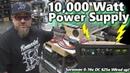 Major Test Bench Upgrade 10 000 Watt DC Power Supply Sorensen DCR 16 625T