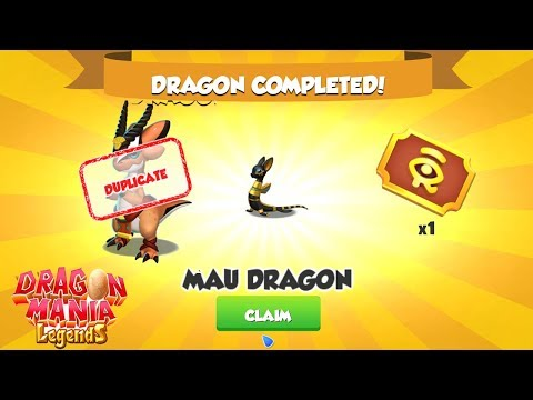 I get Mau Dragon and Gazelle Dragon , Gameplay , Dragon Mania Legends | Part 1140 HD