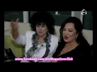 Zeyneb Xanlarova Turkan Soraya uzuk hediyye eledi ATV MAQAZIN
