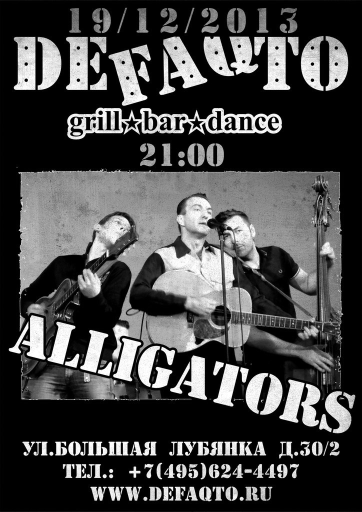 19.12 THE ALLIGATORS — DEFAQTO