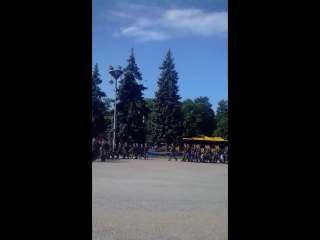 Присяга сына в Киеве соломенская площадь