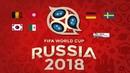Studio Russia 2018 Preview of Belgium v Tunisia South Korea v Mexico Germany v Sweden