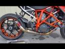 EVOLUTION Shorty Akrapovic Exhaust Slip On KTM 1290 Superduke R