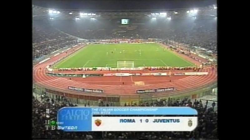 чемпионат италии 2003/2004, 20-й тур, Рома - Ювентус, нтв