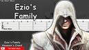 Assassin's Creed 2 - Ezio's Family Guitar Tutorial