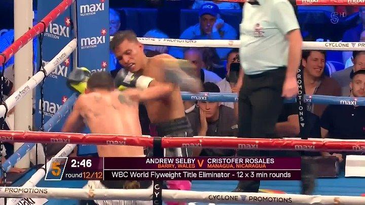 Andrew Selby vs Cristofer Rosales (26-05-2017)
