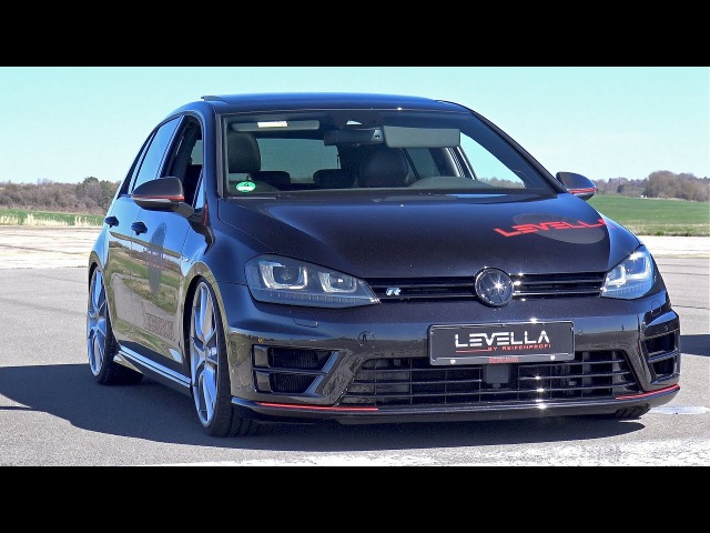 420HP Volkswagen Golf 7 R with full Levella Exhaust System