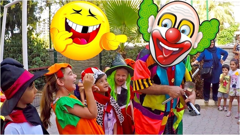 Okulun ilk Günü | First Day of school | Clown For Children | Funny Clown Fiko | Komik Palyaço