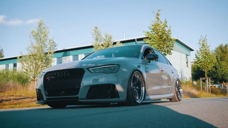Bagged Audi RS3 8V | Asphaltdreams Wheels | Airlift | Ego-X | Perfect Stance