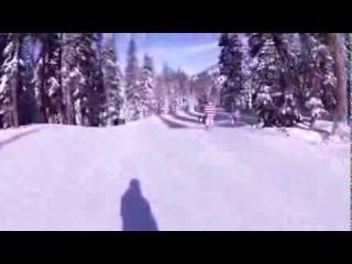 Съемка камеры - очки горнолыжные с камерой
