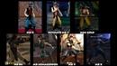 Mortal Kombat KUNG LAO Graphic Evolution 1993-2015 | ARCADE PSX DREAMCAST PS2 XBOX PC | PC ULTRA