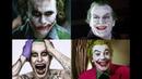 Evolution of Joker. 1966,1989,2008 and 2016