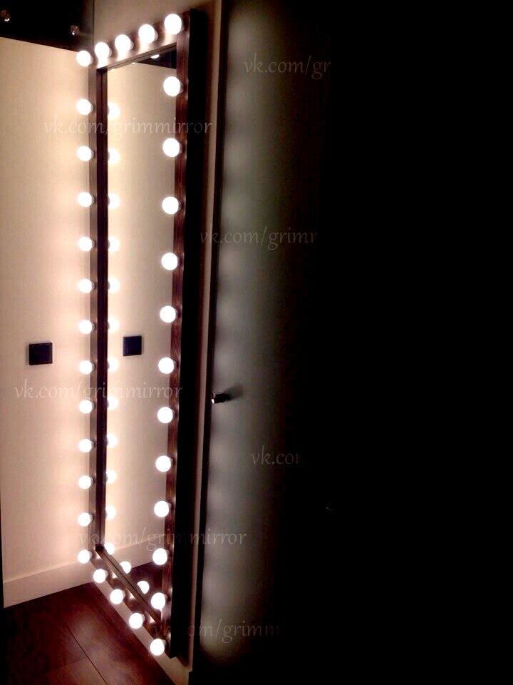 Гримерное зеркало с лампочками  воронеж