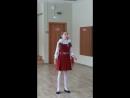 Выступление на конкурсе чтецов имени Кобалевского