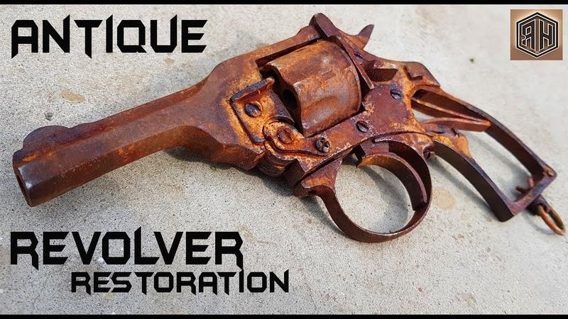 Vintage shooting weapon - Impressive Restoration