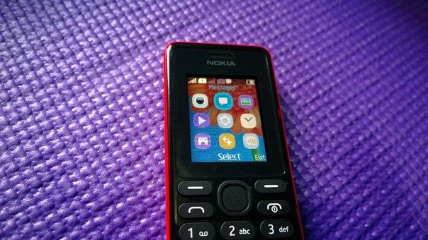 Програмное обеспечение в Nokia 108