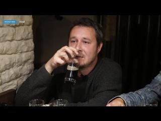 Прокушев пьет (в баре «Ведьмак»)