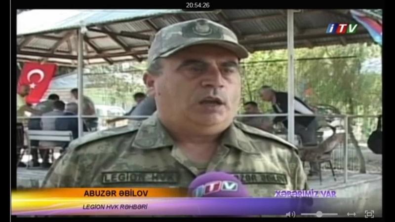 IMSI-Legion-Fitzona İTV-da... Qafqaz Türk - İslam Ordusunun 100 illiyi