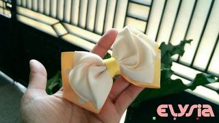 laço Saskia 🎀 Ribbon Bow 🎀 DIY by Elysia Handmade