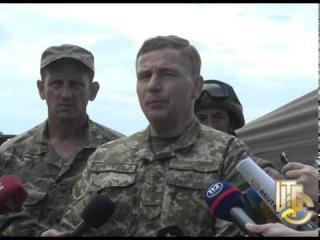 Спілкування МО України генерал полковника Валерія Гелетея з журналістами в зоні АТО