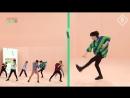 [180919] GOT7 на Idol Room. Специальное видео Нано-танцы с «Lullaby» [русс. саб]