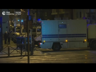 Ситуация на месте стрельбы в Страсбурге
