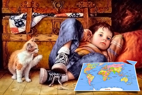 Притча: «Карта Мира»