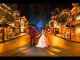 Disneyland Fairy Tale Wedding - Adventureland &amp Animation Building Becca &amp Mike