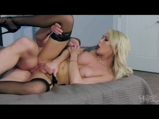 [TransAngels] Aubrey Kate & Colby Jansen - Aubrey's Suite Fuck [2018 г., Shemale, Hardcore, Bareback, 1080p]