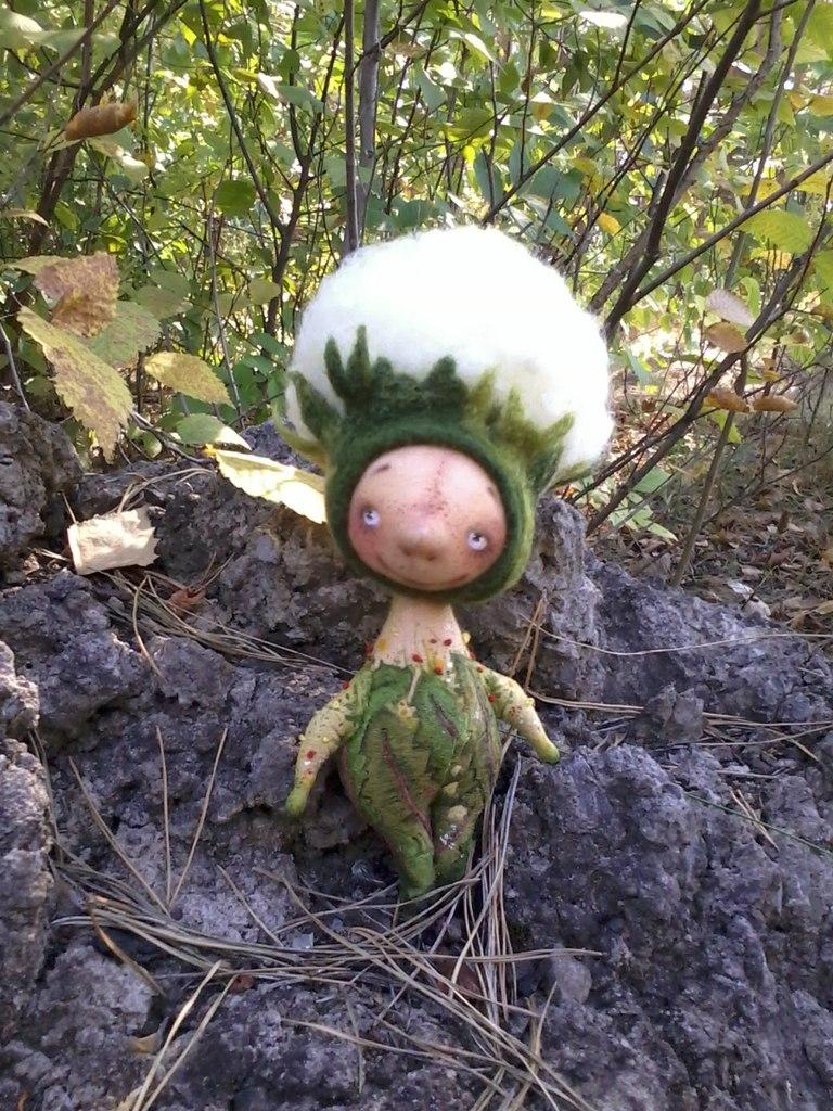 кукла одуванчик