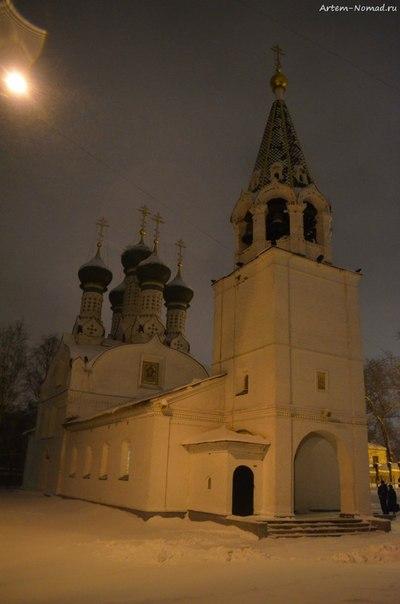 Ильинская слобода. Успенская церковь (1672 г.)